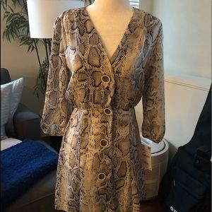 Zara Snakeskin Dress 👗- Brand new